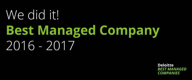 Van Eerd wins Best Managed Company award 2016-2017
